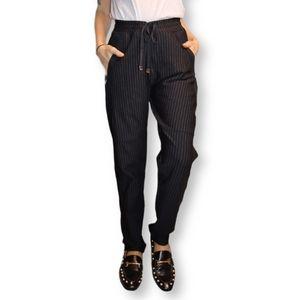 Dolce & Gabbana Pin Stripe Jogger Trousers - US M